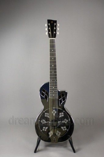 Phillips Resonator Guitars Resonator Parlor Cutaway Acoustic Guitar