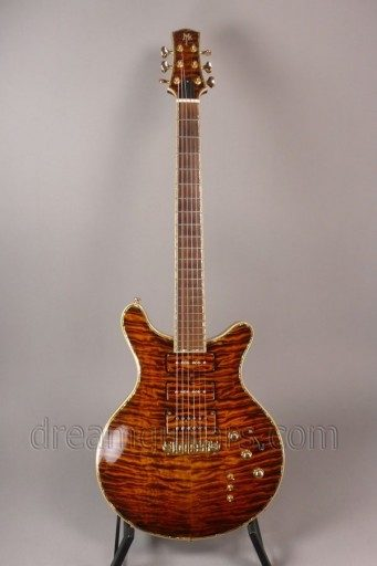 Myka Guitars Double-Cut Electric Guitar