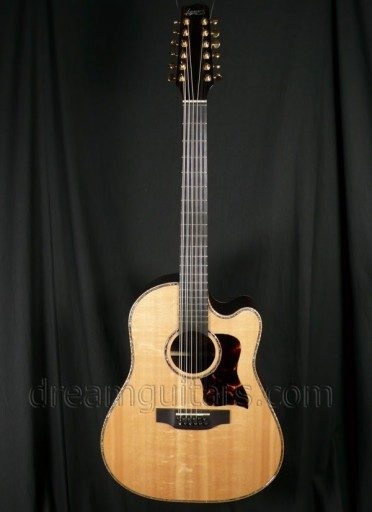 Langejans Guitars R-12 Acoustic Guitar