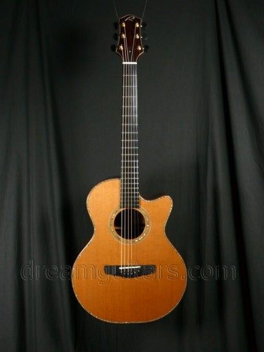 Kevin Ryan Guitars Mission Grand Concert Acoustic Guitar