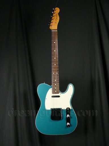 Fender Guitars 62 Tele Custom Electric Guitar
