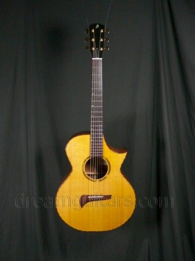 Burchette Guitars Grand Soloist Acoustic Guitar