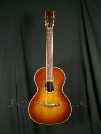 John How Guitars Ladder Braced Grand Concert Guitar Acoustic Guitar