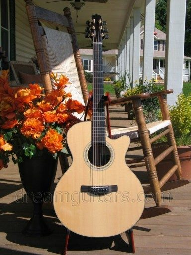 Ed Claxton Guitars EM-C Acoustic Guitar