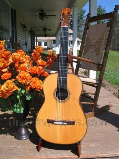 Thomas Humphrey Guitars Concert Classical Guitar