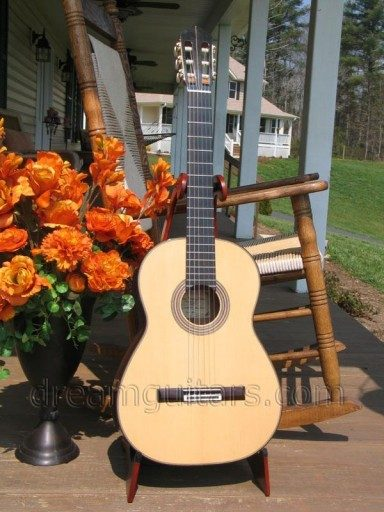 Rubio Guitars Especial Hauser Double Back Acoustic Guitar