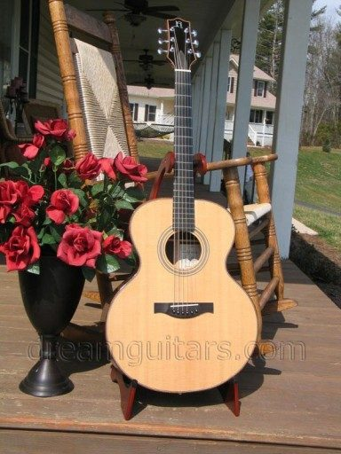 Hoffman Guitars Jumbo Acoustic Guitar