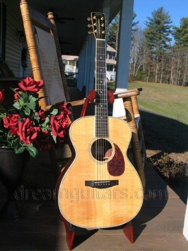 Tippin Guitars OMT-DB Acoustic Guitar