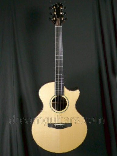Schenk Guitars FE Grand Fingerstyle Acoustic Guitar