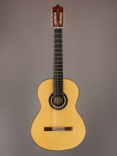 2001 McConnell Hauser Segovia Classical, Indian Rosewood/Engelmann