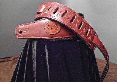 Levy's Leather Guitar Strap (Burgundy) MSS1-BRG