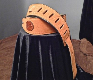 Levy's Suede Guitar Strap (Copper) MSS3-CPR