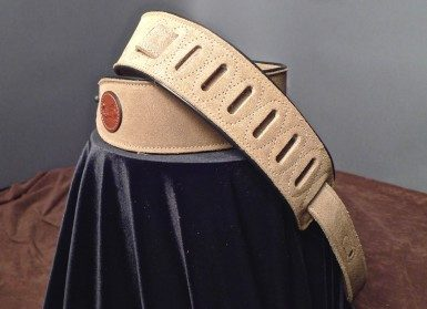 Levy's Suede Guitar Strap (Sand) MSS3-SND