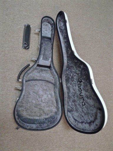 Karura Classical Guitar Carbon Fiber Flight Case - Smoke Grey/Grey