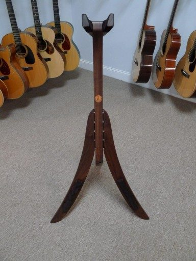 Solid Ground Stands - Guitar Stand in Walnut