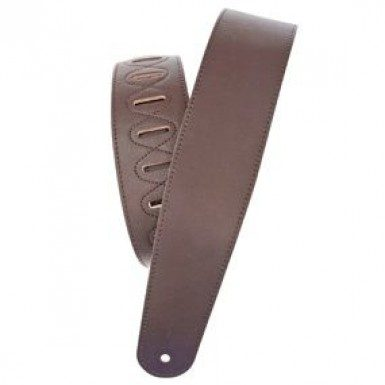 Planet Waves Brown Leather Guitar Strap