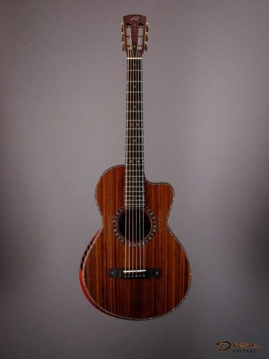 2014 Ryan Abbey Grand Parlor Signature, Brazilian Rosewood/Sinker Redwood