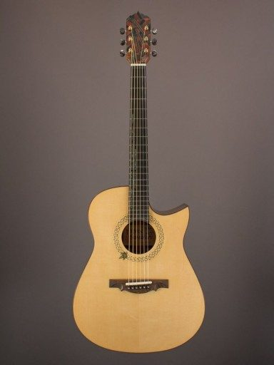 2018 Somogyi Modified Dreadnought, Brazilian Rosewood/European Spruce