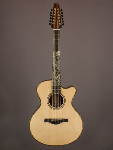 2012 Traugott R 12-String Twin, Brazilian/European Spruce
