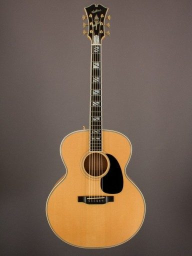 1998 Kim Walker Jumbo, American Maple/German Spruce