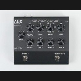 Grace Design ALiX-BK Studio Quality Instrument Preamplifier / DI / EQ