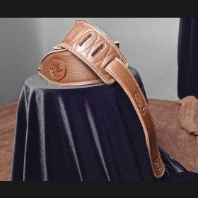 Levy's Garment Leather Guitar Strap (Brown)
