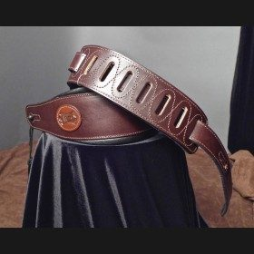 Levy's Leather Guitar Strap (Dark Brown) MSS1-DBR