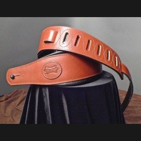Levy's Leather Guitar Strap (Walnut)