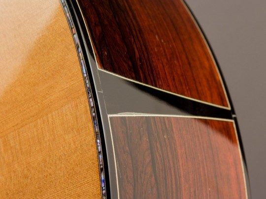 2007 Ryan Abbey Grand Parlor Signature, Brazilian/Cedar