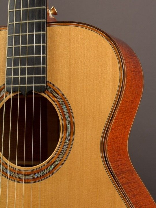 2008 Hoffman 00 Flamed Mesquite/Spruce