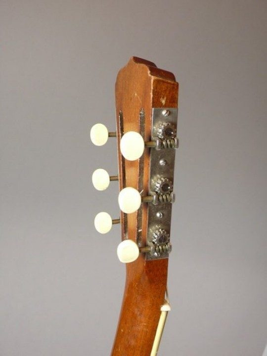 Rare Early One Piece Neck with Slanted Top Edge