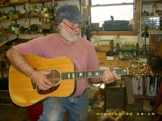 Wayne Henderson With This Guitar #3