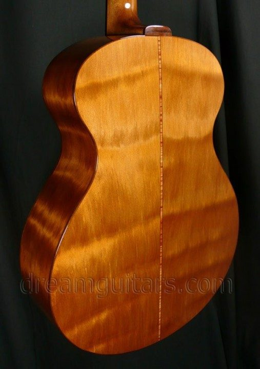 Flamed Ancient Kauri Back and Sides