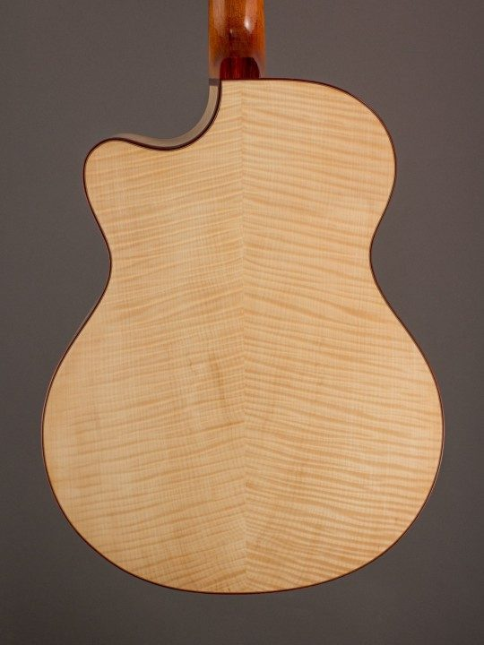 Flamed European Maple Back and Sides