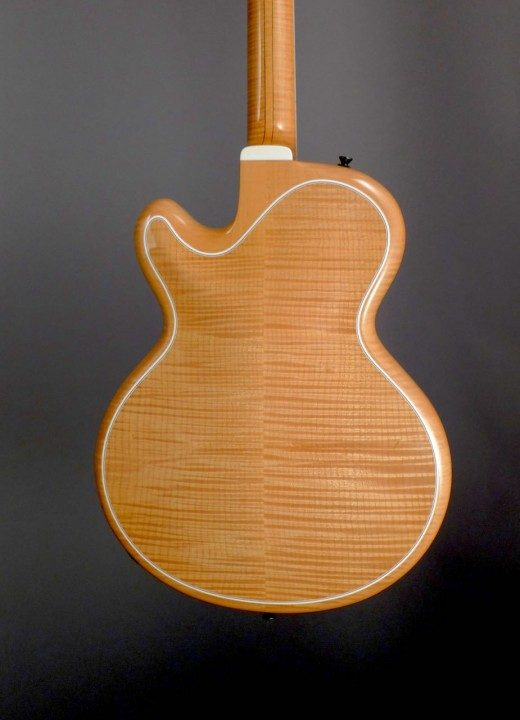 Flamed Maple Back and Sides