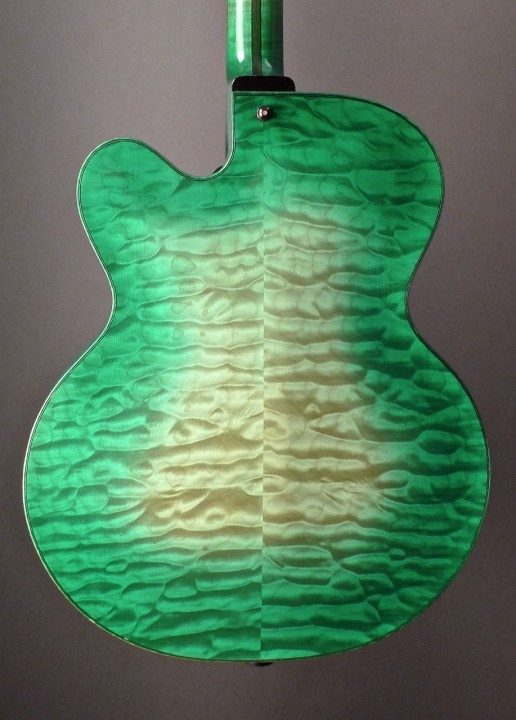 Quilted Maple Back and Sides
