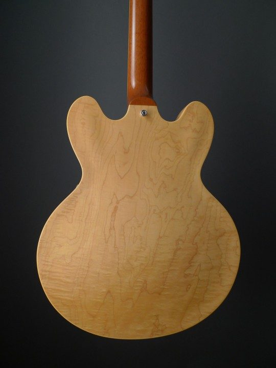Figured Maple Back and Sides