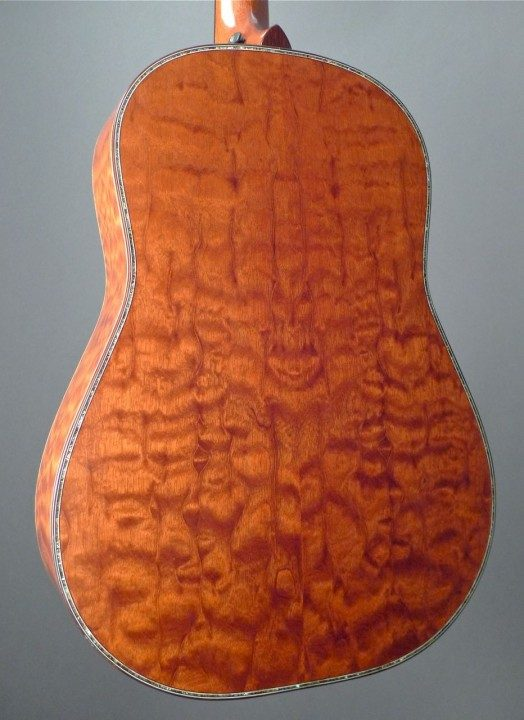 Quilted Mahogany Back and Sides