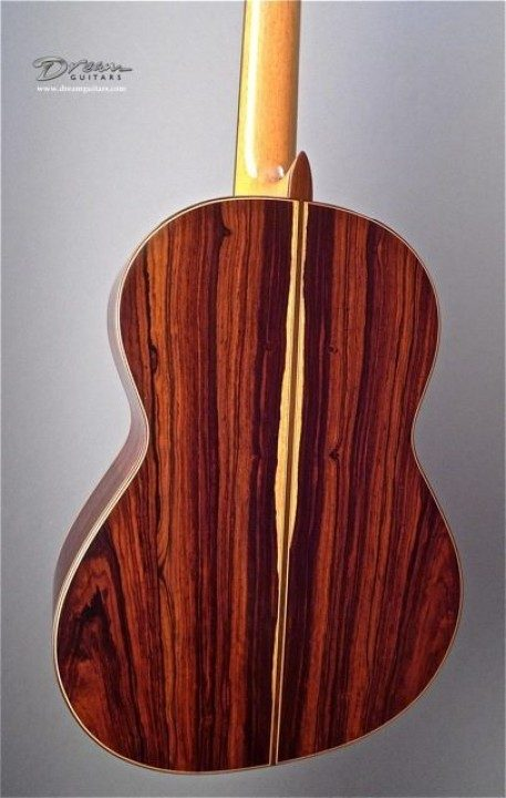 Cocobolo Rosewood Back and Sides