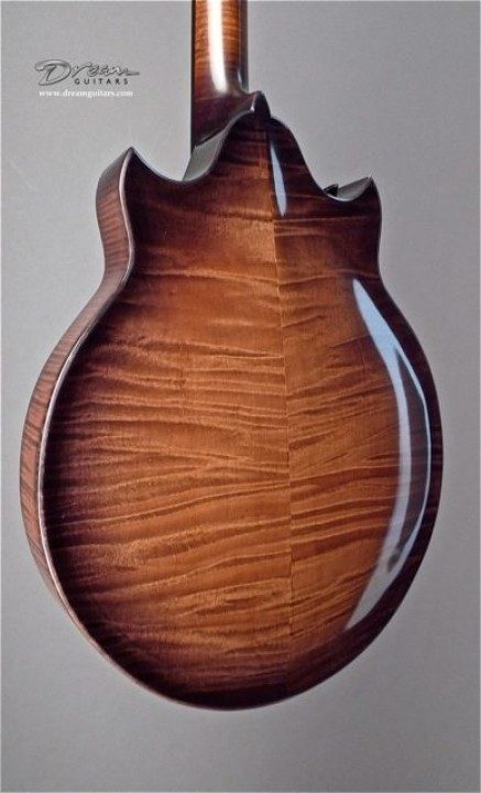 Highly Figured Maple Back and Sides