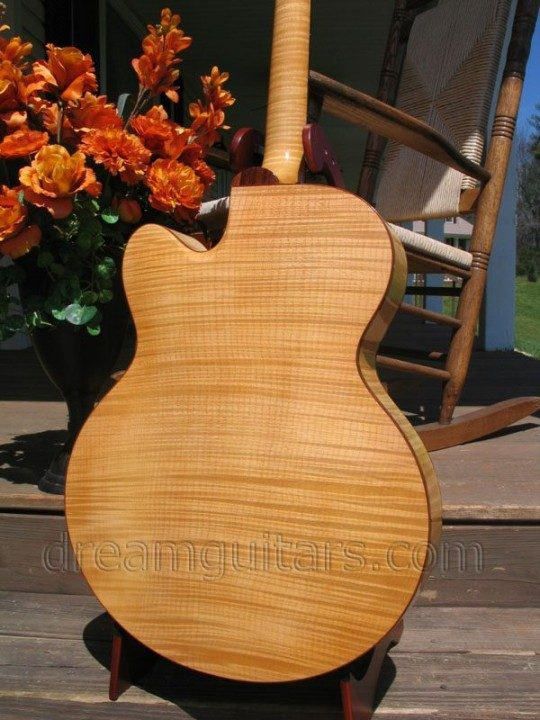 Flame Maple Back and Sides