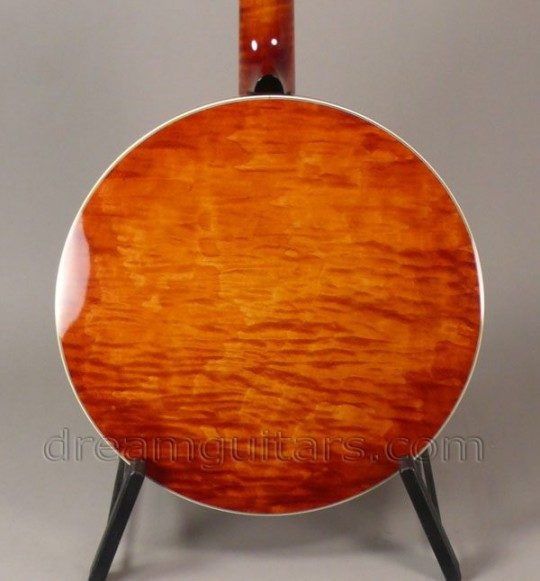 Curly Maple Resonator with Heavy Brass Tonering Back and Sides