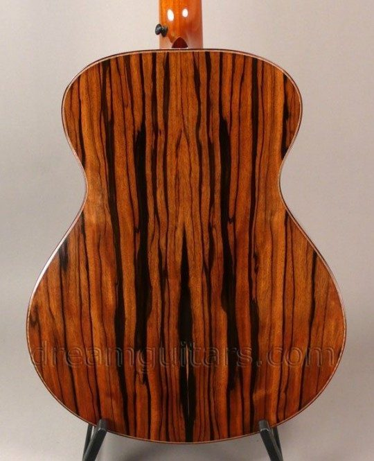 Macassar Ebony Back and Sides