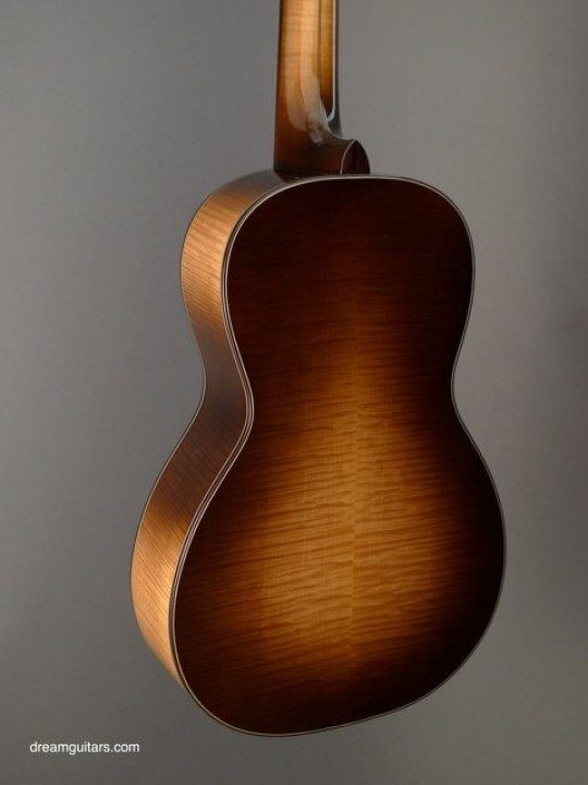 High Curl Western Bigleaf Maple Back and Sides