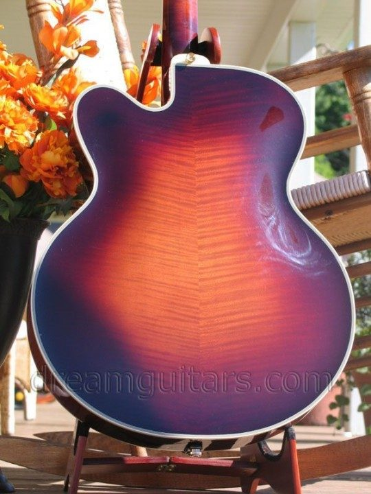 European Flamed Maple Back and Sides