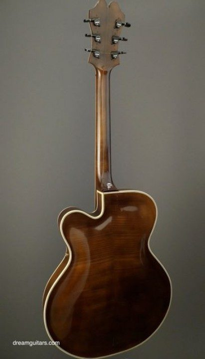 First Ever Slim Hollow Body by Bob Benedetto Archtop Guitar