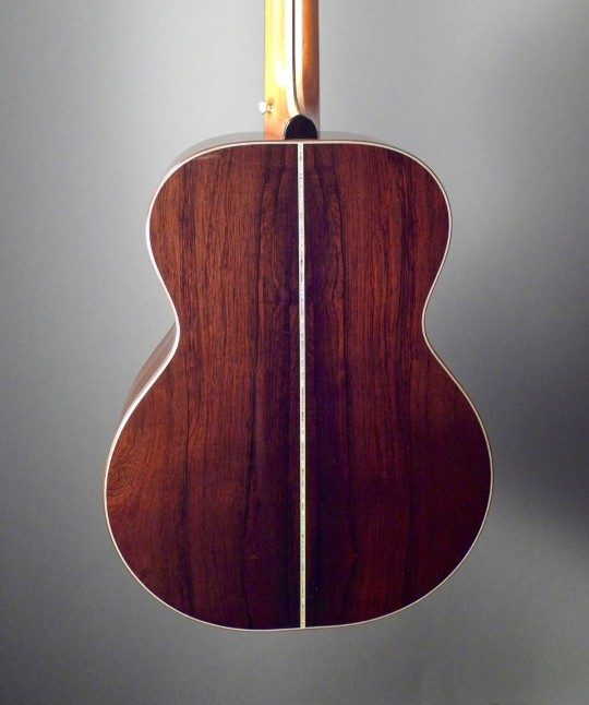 Brazilian Rosewood Back and Sides, 5-Piece Neck