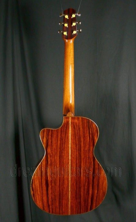 OM, Fan Fret, Wedge Acoustic Guitar