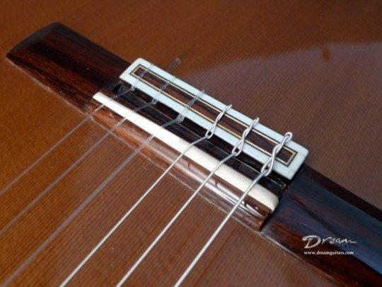 Brazilian, String Through Bridge