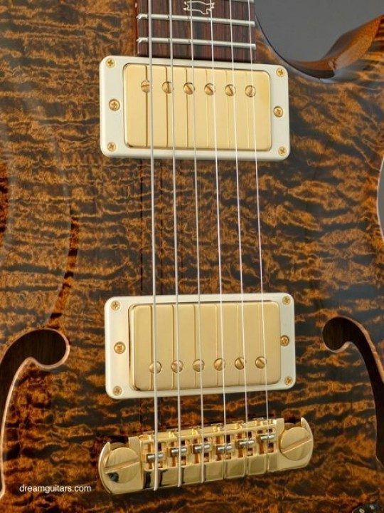 PRS Adjustable Stop Tail Bridge, Archtop Pickups